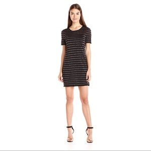 Trina Turk Striped Glitter Dress